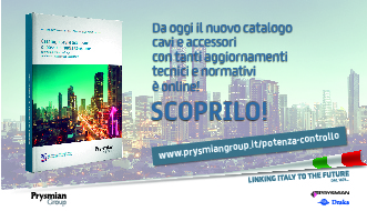 Prysmian Italia presenta il nuovo Catalogo Generale di cavi e accessori 2018