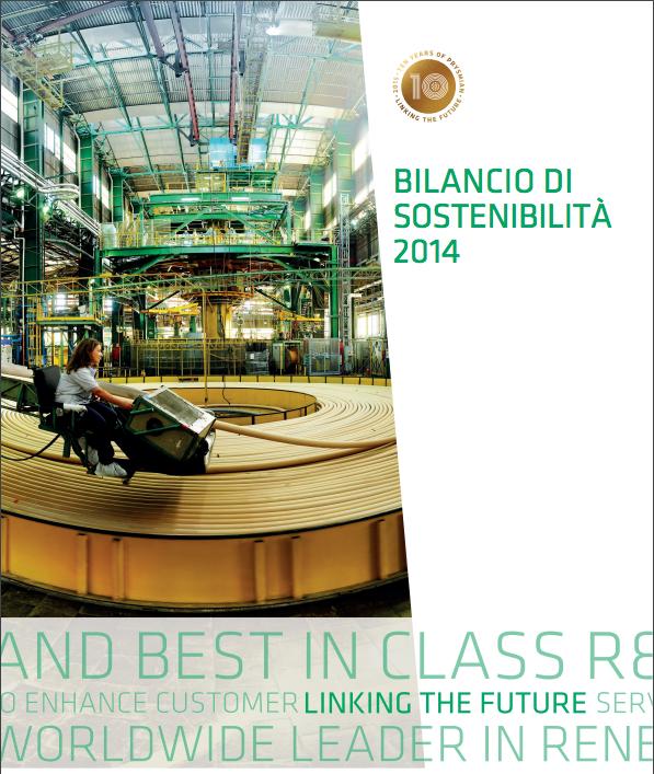 Bilancio di sostenibilità 2014