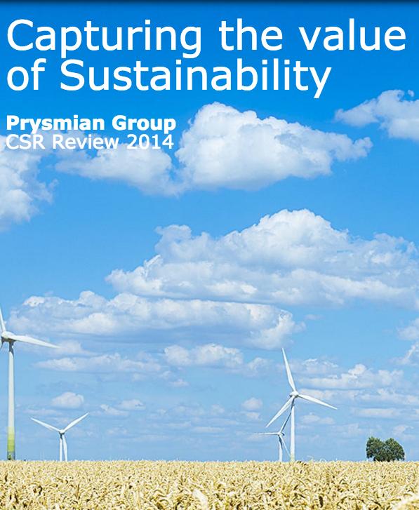 Bilancio di sostenibilità 2014 (minisito inglese)