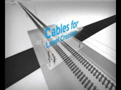 Railway signaling cables