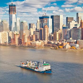 Le luci sono a Manhattan, ma l'elettricità viene dal New Jersey