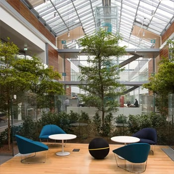 All'interno del nuovo 'smart-working Headquarter' di Prysmian